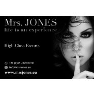 Mrs. Jones High Class Escort